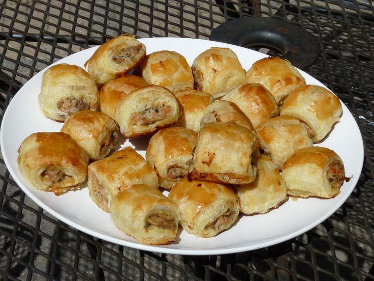 mini sausage rolls | Pork Dishes ~ Recipes | Pinterest