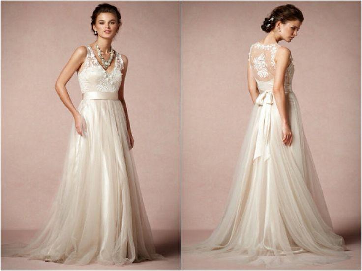 lace wedding dresses flowy