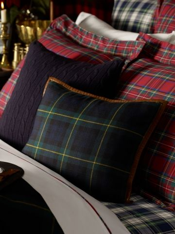 Ralph Lauren Throw Pillows Home Goods : Summerland Homes & Gardens: I m Dreaming... of a Plaid Christmas.