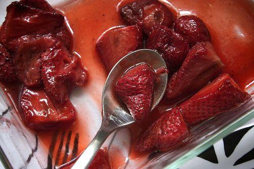 Roasted Strawberries | Recipes | Pinterest