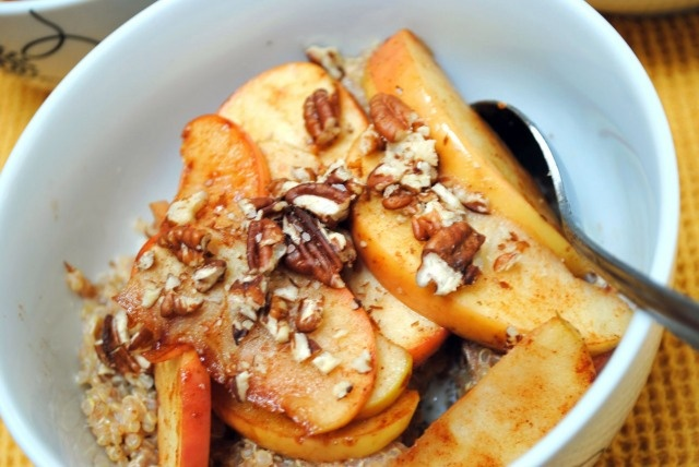 Apple Cinnamon Breakfast Quinoa | Meal ideas | Pinterest