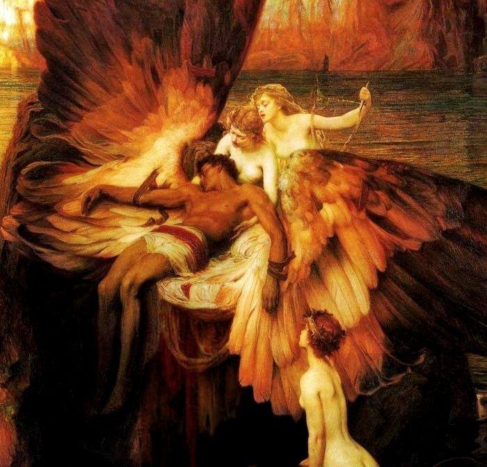 Herbert James Draper – The Lament for Icarus – 1898 – Tate Gallery, London