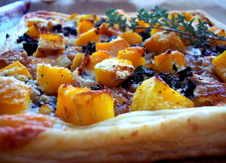 ... Squash Tart with Caramelized Onions and Kale - Proud Italian Cook