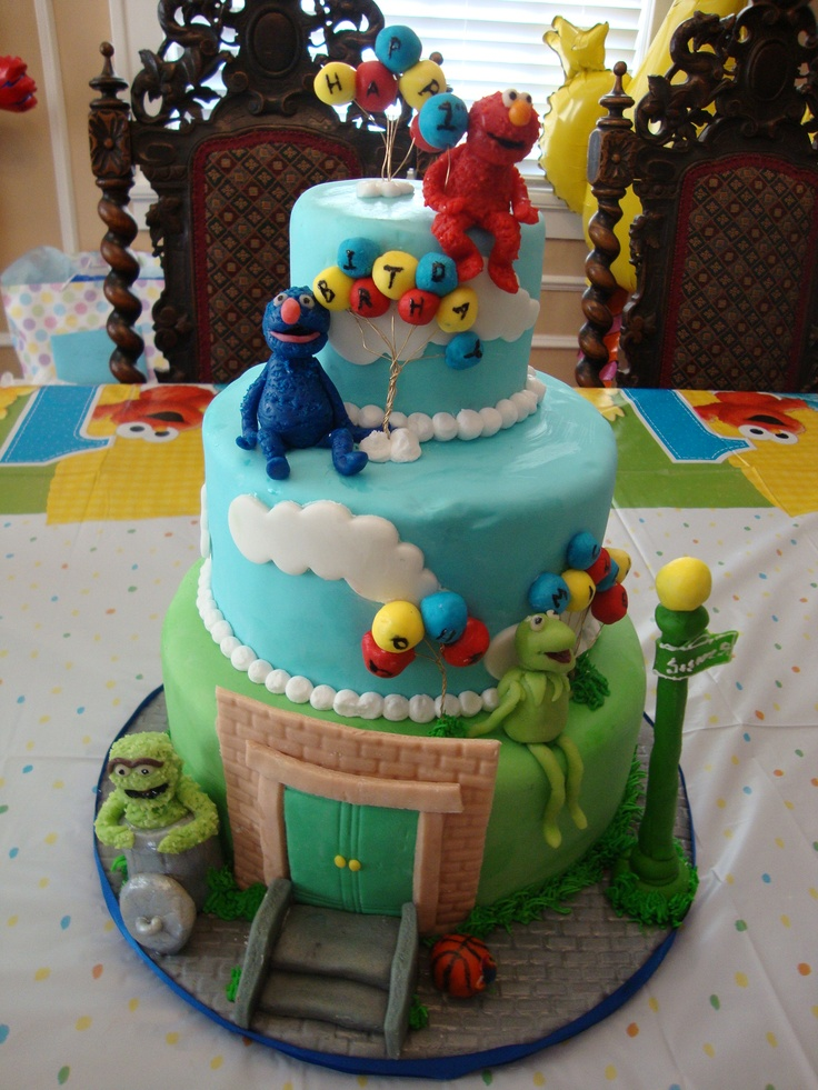 Images Of Birthday Cake For Son : my sons 1st birthday cake Things I Love Pinterest