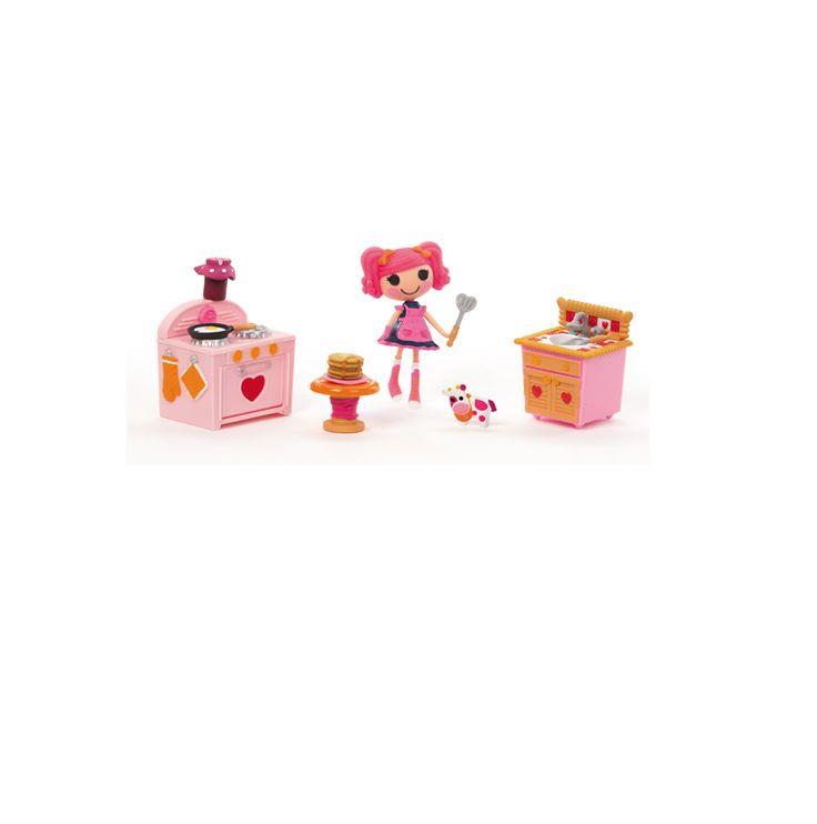 lalaloopsy kitchen set dollhouse furniture