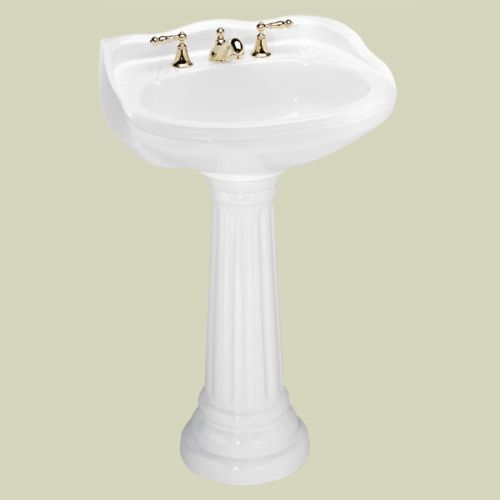 22 Inch Pedestal Sink : ... lavatory-pedestal-sink-combo26-inch-x-22-1-4-inch-x-36-3-4-inch-p-6540