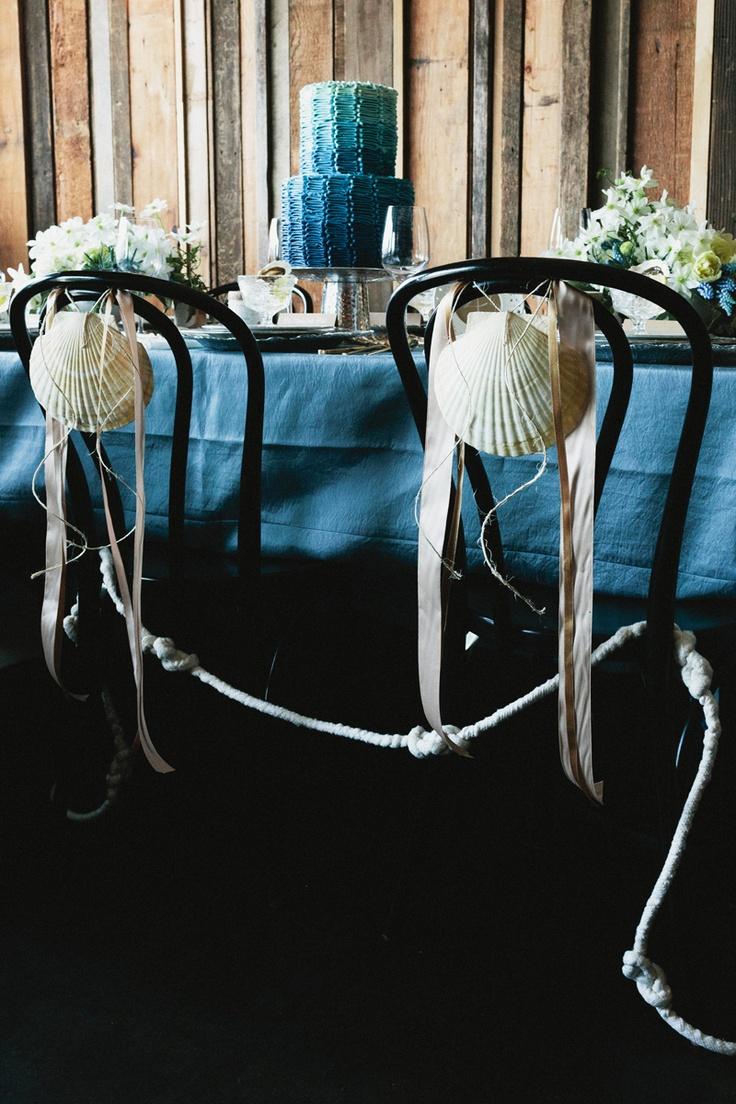Deep blue sea wedding theme Keywords: #seaweddings #jevelweddingplanning Follow Us: www.jevelweddingplanning.com www.facebook.com/jevelweddingplanning/