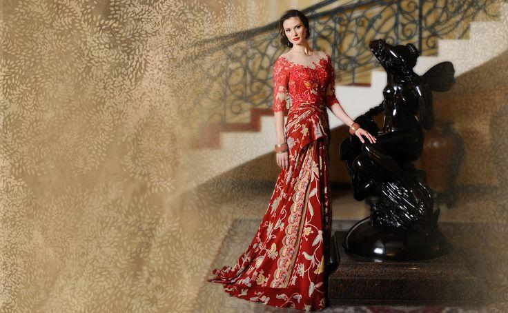 Modern Batik Fashion by Danar Hadi | Indonesian Batik | Pinterest