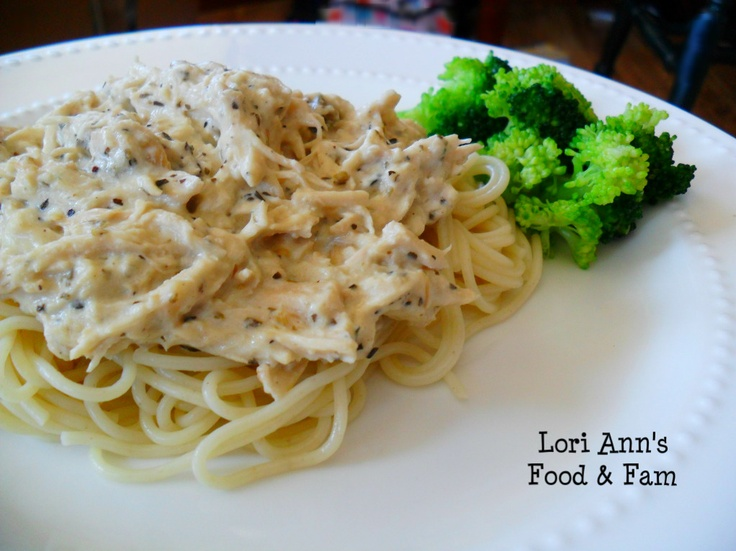 Slow Cooker Chicken Alfredo Recipe — Dishmaps