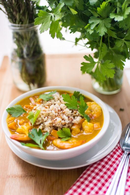 Pumpkin Shrimp Curry | Food and Drink | Pinterest