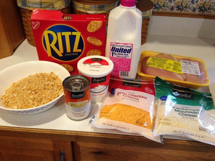 Crunchy Cheddar Chicken Recipes — Dishmaps