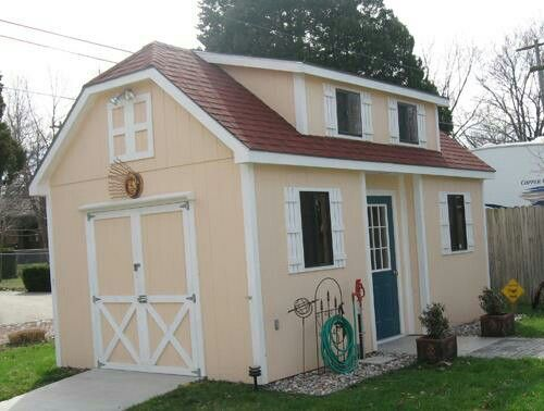 Storage shed home creative homes and playhouses Pinterest