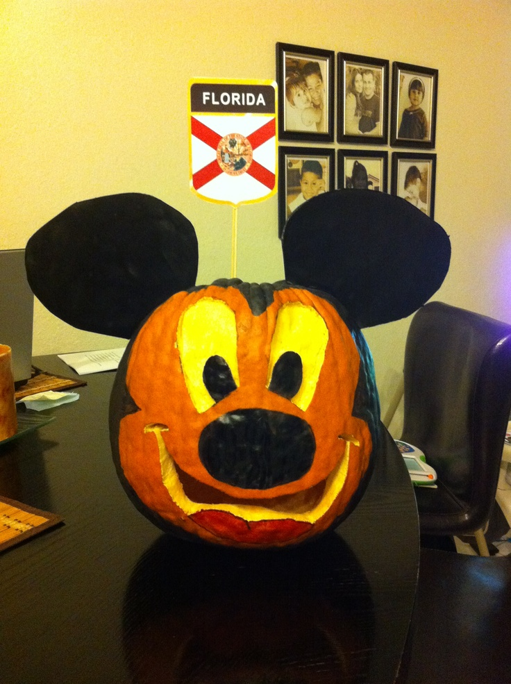 Mickey Mouse Pumpkins