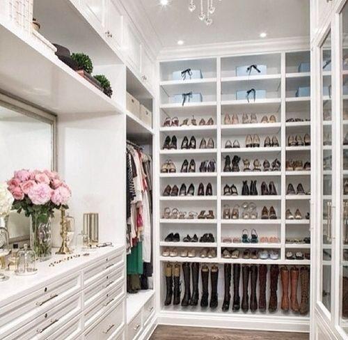 Beautiful Closet An Organized Life Pinterest