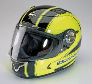 Scorpion EXO-1100 Motorcycle Helmet. Click to read the review from the