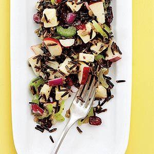 wild rice apple salad | Salad, Salsas and Sauces | Pinterest