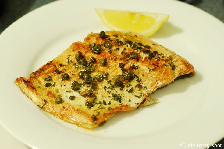 Wild salmon with capers | Favorite Recipes | Pinterest