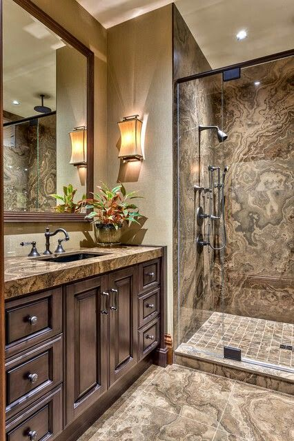 Rustic Bathroom Design Home Pinterest