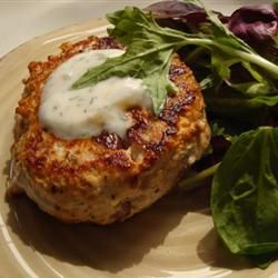 Feta Cheese Turkey Burgers | Recipe