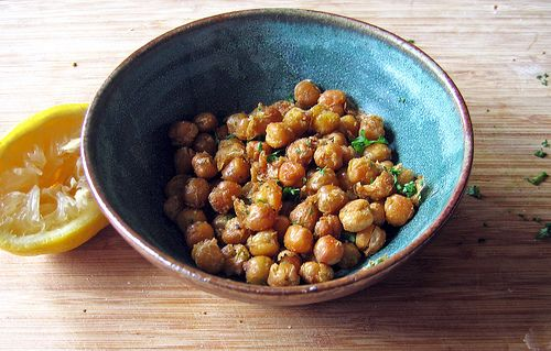 roasted chickpeas with cumin | Healthy Recipes | Pinterest