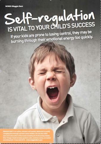 how to encourage children to develop self-regulation