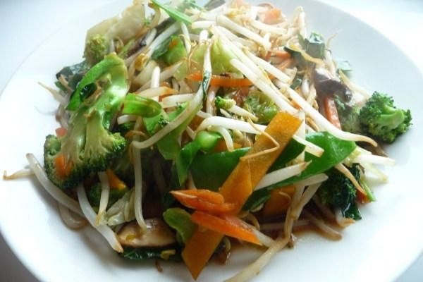 Stir-Fried Vegetables (Cabbage, Chinese Mushrooms, and Broccoli) | Re ...