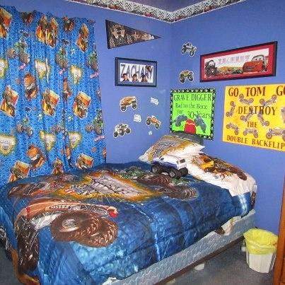 Monster Jam Room Aaron 39 S Room Pinterest
