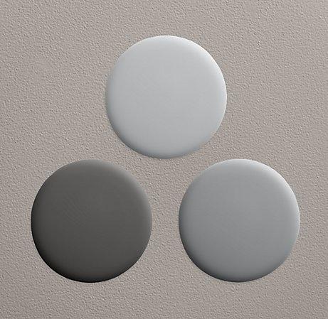 Restoration Hardware Gray Paints Master Bath Remodel