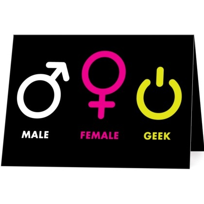 Male  female  geekFemale Geek