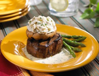 Grilled Crab And Fontina Stuffed Mushrooms Recipes — Dishmaps