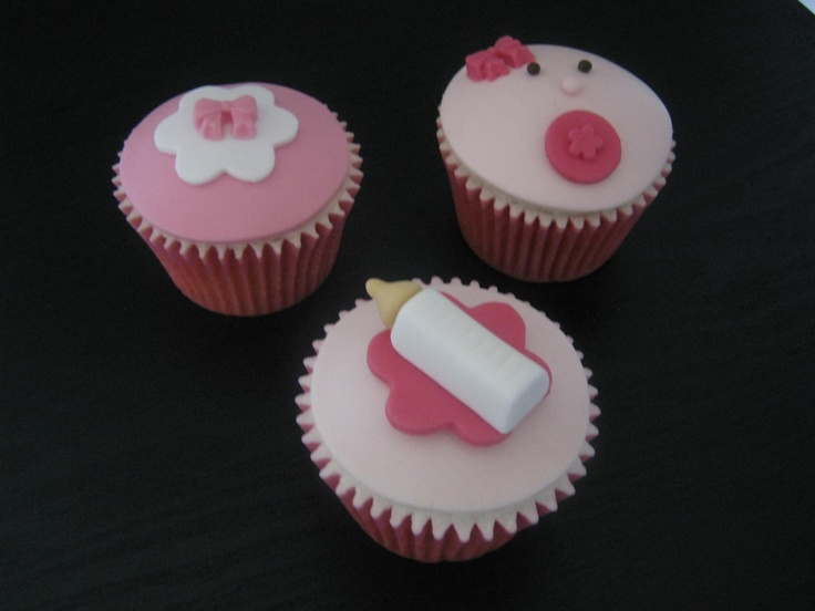 Baby Girl Baby Shower Cupcakes!  https://www.facebook.com/pages/The-Sugarplum-Bakehouse/147584558644564