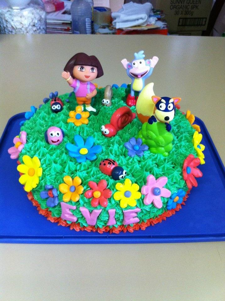 Cake Design Dora : Dora The Explorer Cake Cakes Pinterest
