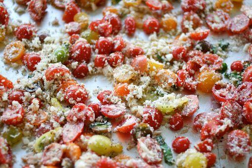 Pasta with Baked Tomato Sauce | Proven Yummies | Pinterest