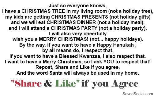 Happy holidays vs merry christmas clever sayings pinterest for Happy christmas vs merry christmas