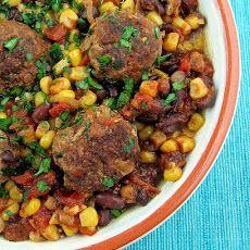 Southwest Meatball Skillet Recipe | Recipes | Pinterest