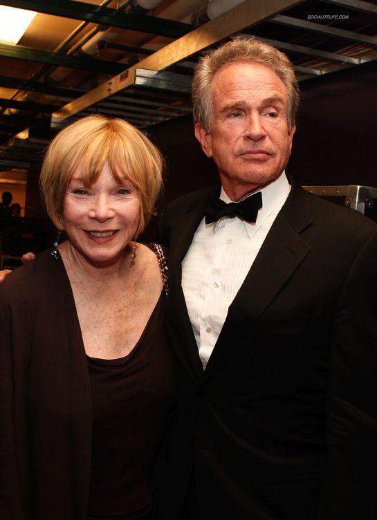 Warren Beatty and his sister, Shirley MacLaine!