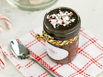 Chocolate Peppermint Cake in a Jar (and a Giveaway!)