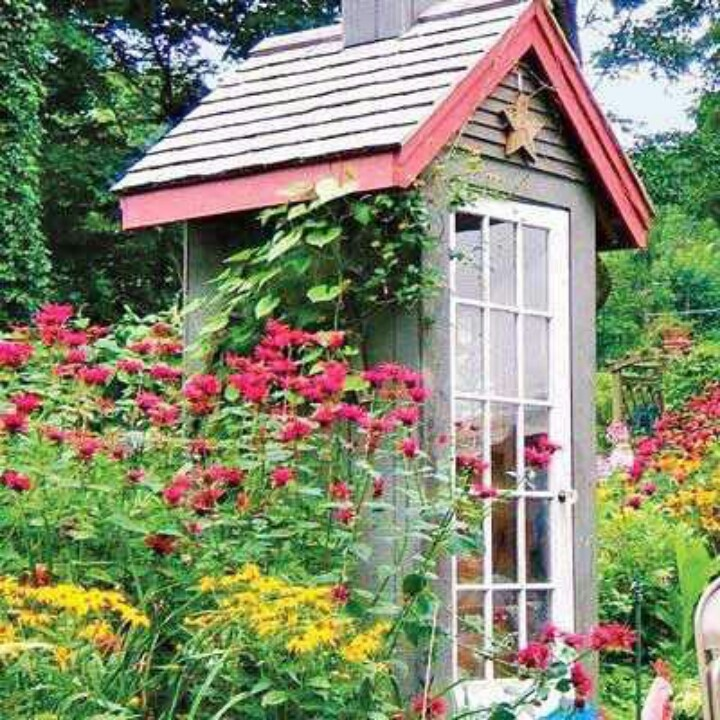 Dreamy little cottage shed yard gardening pinterest for English garden shed designs