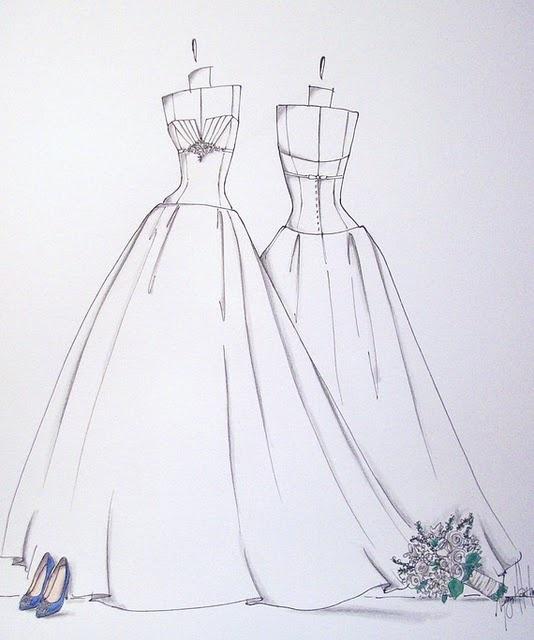 wedding dress sketch wedding dress sketches pinterest