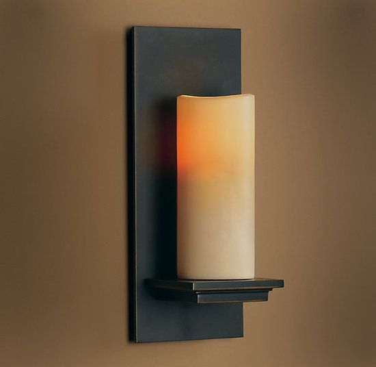 Candle Wall Sconces Restoration Hardware : No Wires Required: Add Warmth and Style With Chic Candle Sconces