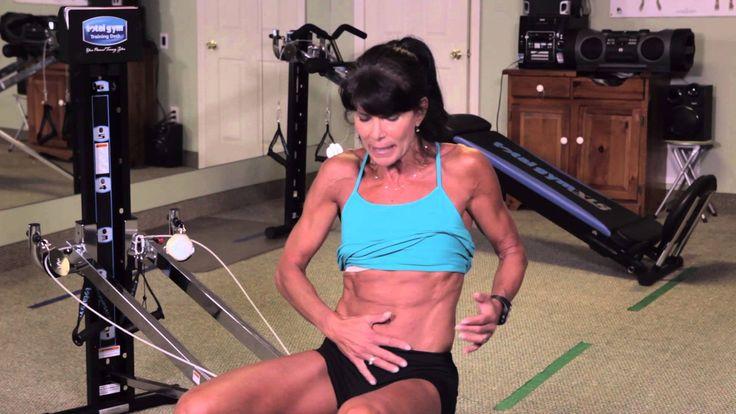 Total gym ab exercises excercise pinterest