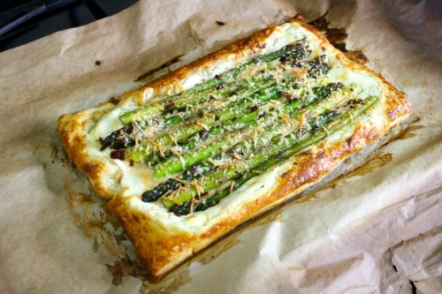 asparagus and parmesan tart | Foodie. Let's get delicious! | Pinterest
