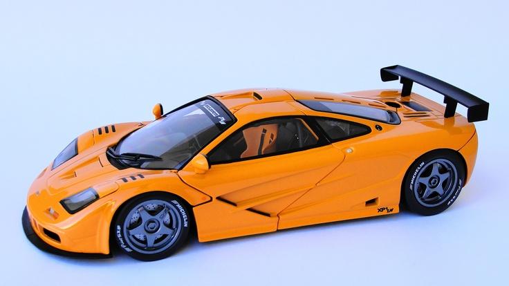 Mclaren X 1 >> UT model 1:18 McLaren F1 XP1 LM   Miniaturas   Pinterest