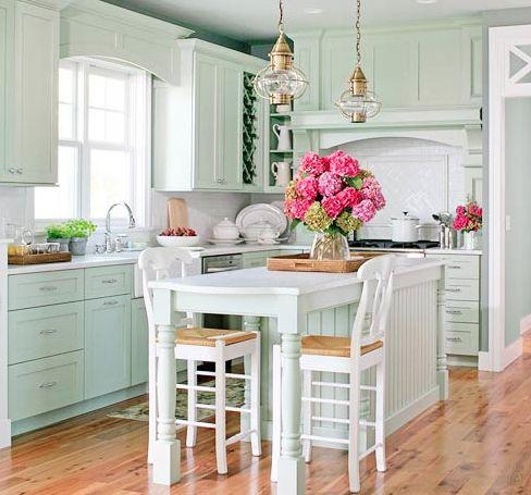 Cottage Style Kitchen Cozy Cottage Style Pinterest