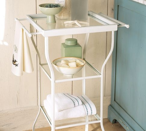 Cute Accent Table For My Bathroom Home And Decorating