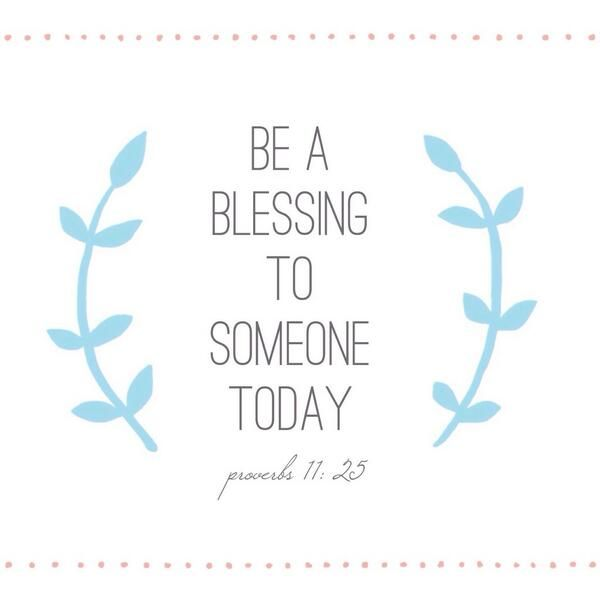 Be A Blessing Today The Blessing Jar