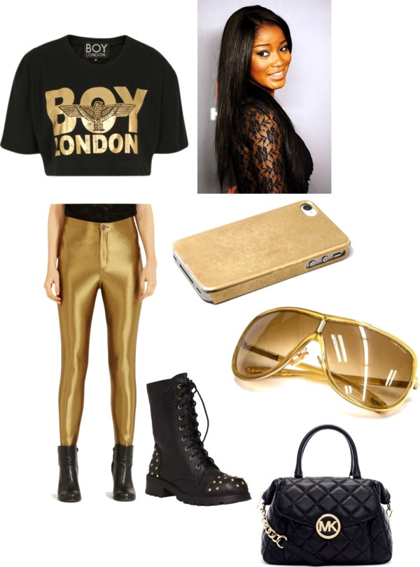 """Cause my life is a lil golden!"" by newyorkbrooklyn ❤ liked on Polyvore"