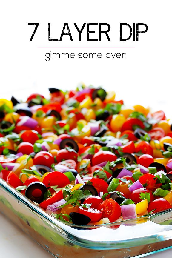 This classic 7 Layer Dip recipe is made with fresh and simple ...
