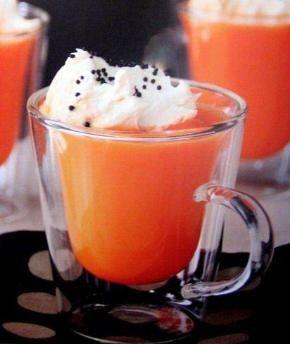 Orange Hot Chocolate | choco hot ☕ ☕ ☕ very hot ...