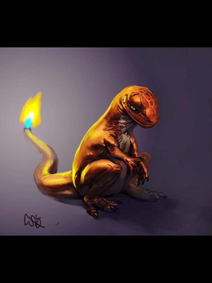 Charmander | Realistic Pokemon | Pinterest